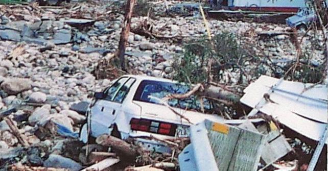 Commémoration du déluge de 1996