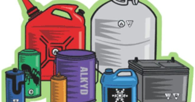 La collecte des emcombrants et résidus domestiques dangereux et produits électroniques