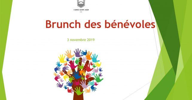 Présentation brunch des bénévoles 2019
